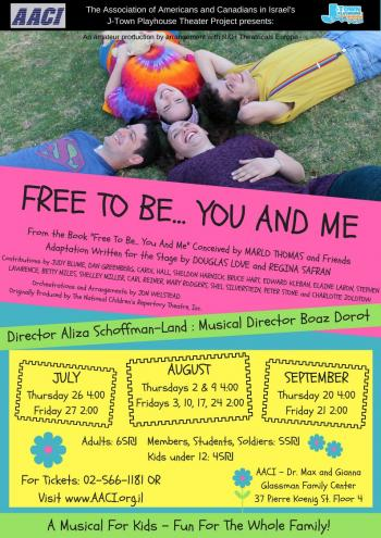 Free to Be...You and Me- A Musical for Kids!