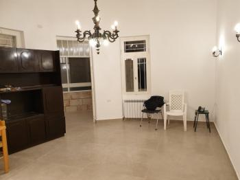 For Rent in Jerusalem in the Talbiya Neighborhood on the Most Wanted Street a 3 Room Apartment