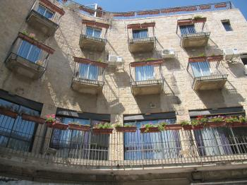 Boutique Hotel for Sale in the Heart of  the Center of Jerusalem 8% Return
