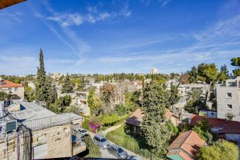 For Sale in Jerusalem in the German Colony a Penthouse 190 Sqm on One Level