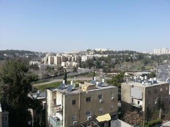 Beautiful new penthouse for sale in Katamon/Rasko