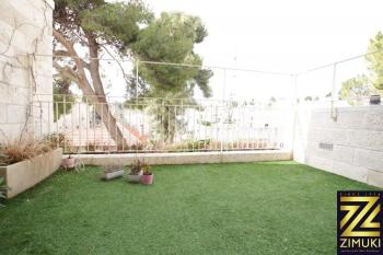 In Nayot , 3br with balcony and view for sale