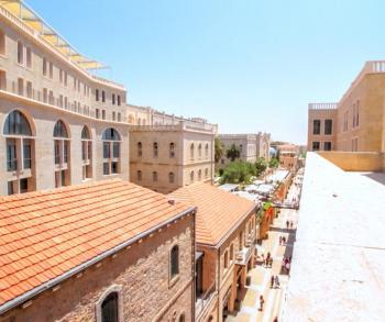 Mamilla - Jerusalem - Old city and temple mount view!!  ( ZIMUKI.COM )