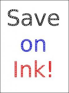 CompuTip -  Save on Ink T02