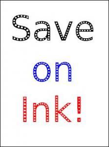 CompuTip -  Save on Ink T02