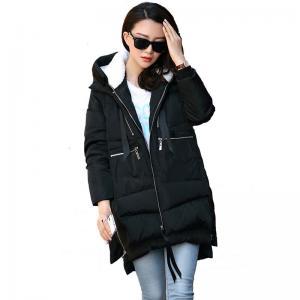 Women's Polyester/Down Winter Jacket