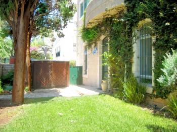 ground fl 6 room apt with garden and huge porch with open panoramic view