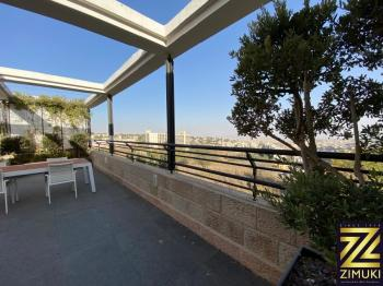Luxury rental, 200sqm room Penthouse in Jerusalem