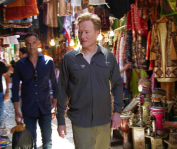 VIDEOS: CONAN IN ISRAEL!