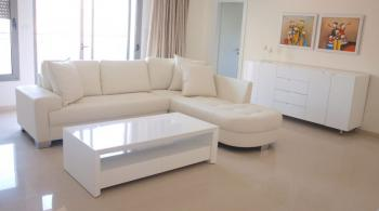 KIKAR HAMUSICA, CITY CENTER, wonderful deluxe apartment for rent, 3 bedrooms, 118 sqm, (2 single be