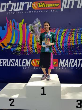WONDER WOMAN: Jerusalem's Top Marathon Runner is a Religious Mother of 5