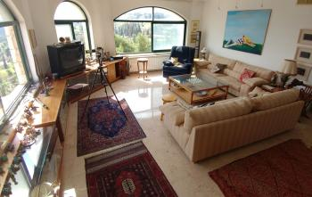 Panoramic penthouse, views to Jerusalem old city, gross 200 Sqm for 5 rooms plus 200 Sqm of terrace