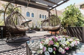 luxury mamilla rental 3   BR private house on agron street,rare property,  5 min walk from the ol
