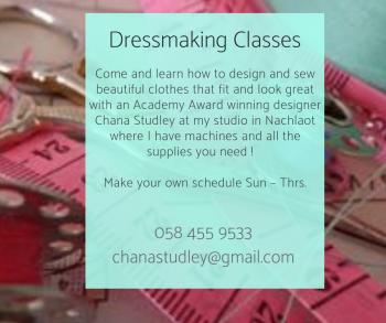 Design and Sewing Classes