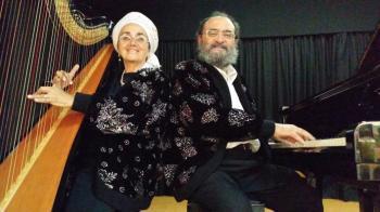 CONCERT SHIMON REUBEN & NEHAMA REUBEN 12 DECEMBER Piano solo Jazz & Harp solo Hebraic virtuose