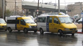 Confirmed: Jerusalem to Get Service Taxis Soon, Reforming Public Transportation