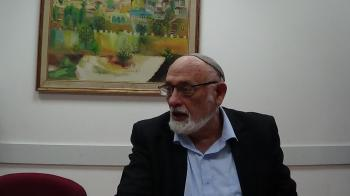 "Rabbi Professor Hillel Weiss Lecture on ""Israel's Sanhedrin, Third Temple, Jubilee Year"""