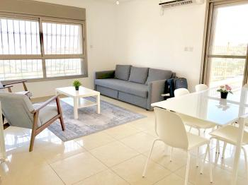 Newly furnished 3 BR penthouse apartment for short/long term