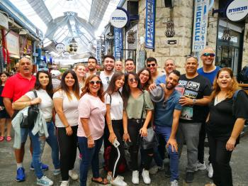 Open Tour at the Machane Yehuda Market and Nahlaot