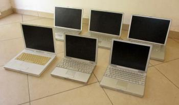 G4 POWERBOOKS, G4 IBOOK, KEYBOARDS AND BATTERIES FOR SALE