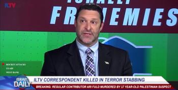 WATCH: ILTV, in Hearfelt Report, Mourns Fellow Correspondent Ari Fuld
