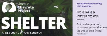 Limmud Releases Free Sukkot 2018 Chavruta Resource