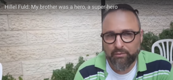 """WATCH: Ari Fuld's Brother, Hillel, in Tribute: """"Ari was fire, a super hero."""""""