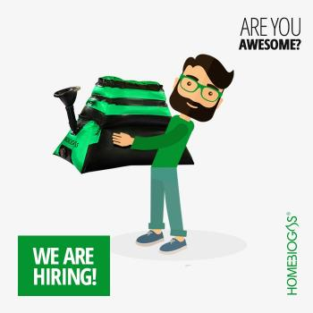 HomeBiogas is hiring for a Sales Development Role!