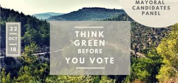 Think Green Before You Vote: Mayoral Candidates Panel Oct 22
