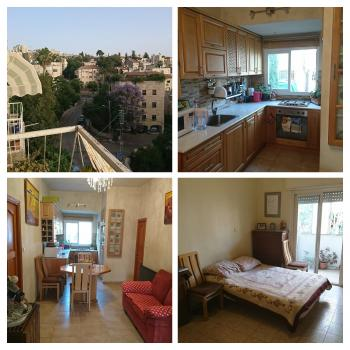 Great apartment for investment/young couples in Rechavia.
