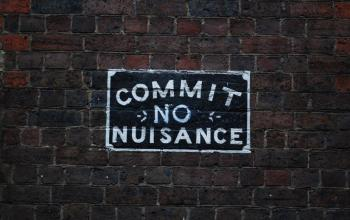 A brief review of the law of nuisance