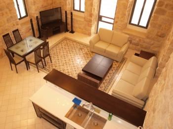 THE CASTILLE - Beautiful 2 BR, Authentic Jerusalem