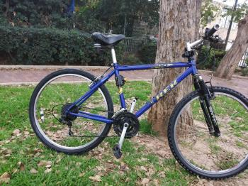 TREK 800 TRAIL MENS MT. BIKE SHIMANO VBRAKE SHIFTERS SHIMANO SIS DERAILUERS THIS IS THE MOST COMFOR