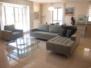 THE EMERALD - NEW 3 BR JEWEL in the CENTER OF JERUSALEM