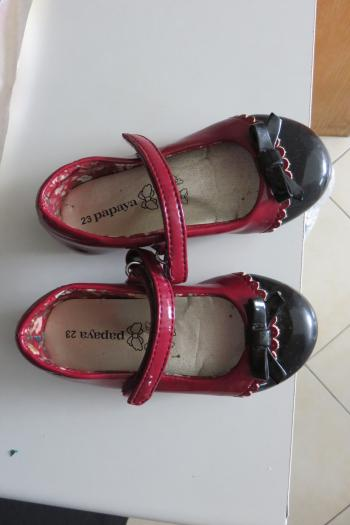 Girls dress shoes Papaya