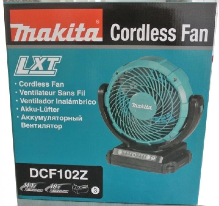 Makita DCF102Z Ventilador
