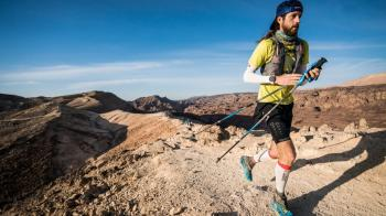 Meet the man who ran the Israel Trail in 10 days