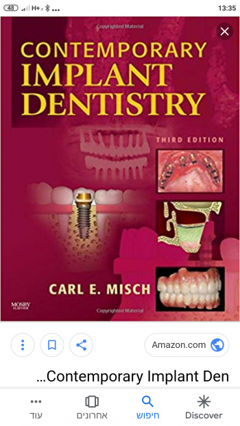 Implant Dentistry by Carl Misch