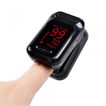 Finger Pulse Oximeter, Portable Blood Oxygen Saturometer SPO2 PR, NEW.
