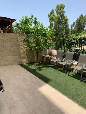 garden apartment in Mekor Haim