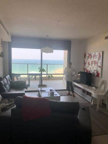 Sea facing beautiful apartment Ashkelon