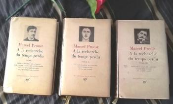 PLEIADE PROUST 3 TOMES I II III French Edition 1968 A LA RECHERCHE DU TEMPS PERDU