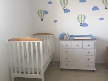 baby crib+matress+changer used for 6 month MUST GO!