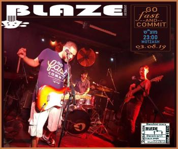 Go Fast & Commit at Blaze Live Music Bar!