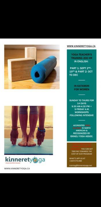 Yoga Teacher Training Program September 2019