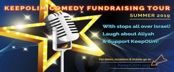 KeepOlim Comedy Fundraising Tour