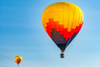 Watch: Hot Air Balloon Festival in Northern Israel