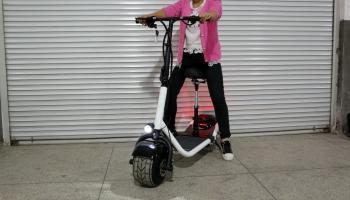 SUN 500 w / 48v צמיג שומן מתקפל מיני סיטי קוקו קורקינט אופנוע חשמלי