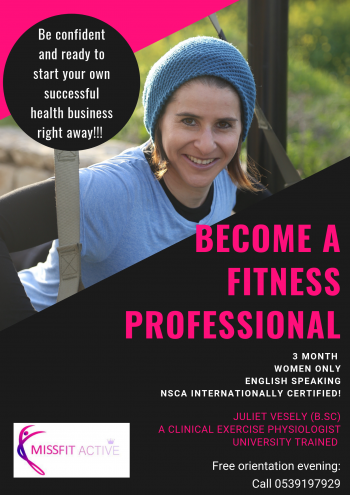 Become a Fitness Professional!