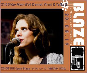 Before Open Stage: Live with Vav Mem Bet at Blaze Rock Bar